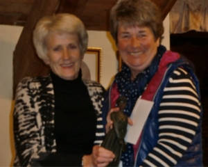 WHCG 2015 - Jean Warburton Trophy - Lesley Morris